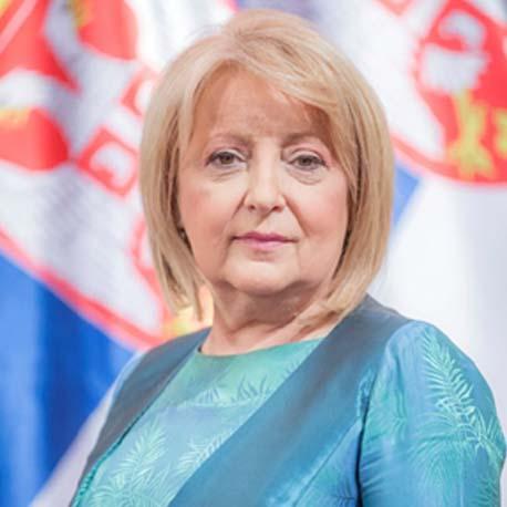 Ministarka Prof. dr Slavica Đukić Dejanović